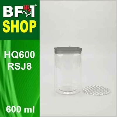 600ml - HQ600RSJ8 - 85MM Pet Jar with