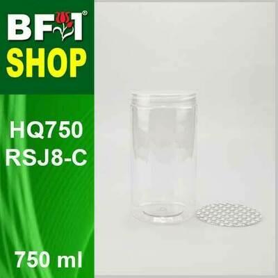 750ml - HQ750RSJ8-C - 85MM Pet Jar with