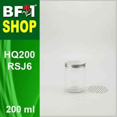 200ml - HQ200RSJ6 - 65MM Pet Jar with