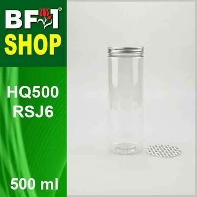500ml - HQ500RSJ6 - 65MM Pet Jar with