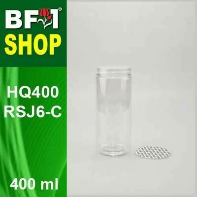 400ml - HQ400RSJ6-C - 65MM Pet Jar with