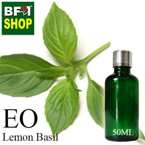 Essential Oil - Basil - Lemon Basil (Citriodorum Basil) - 50ml