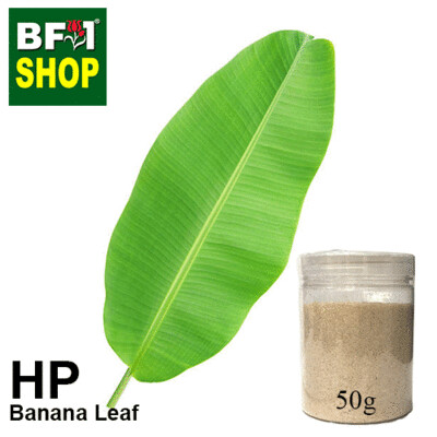 Herbal Powder - Banana Leaf Herbal Powder - 50g