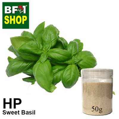 Herbal Powder - Basil - Sweet Basil ( Giant Basil ) Herbal Powder - 50g