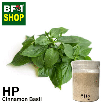 Herbal Powder - Basil - Cinnamon Basil ( Thai Basil ) Herbal Powder - 50g