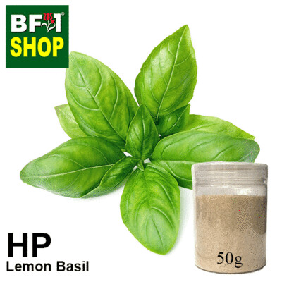 Herbal Powder - Basil - Lemon Basil Herbal Powder	- 50g