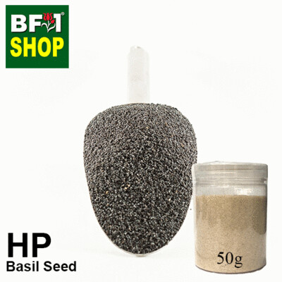 Herbal Powder - Basil Seed ( Ocimum Basilcum ) Herbal Powder - 50g