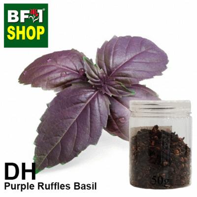 Dry Herbal - Basil - Purple Ruffles Basil - 50g