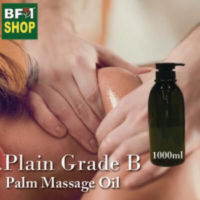 Palm Massage Oil - Plain Grade B - 1000ml