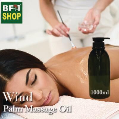 Palm Massage Oil - Wind - 1000ml