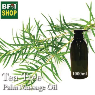 Palm Massage Oil - Tea Tree - 1000ml