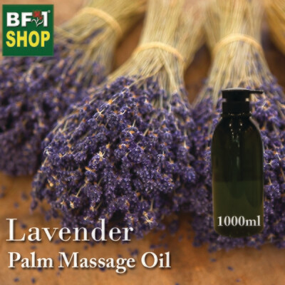 Palm Massage Oil - Lavender - 1000ml