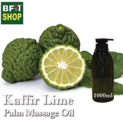 Palm Massage Oil - Kaffir Lime - 1000ml