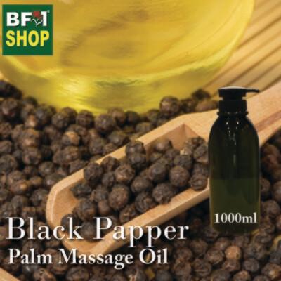 Palm Massage Oil - Black Papper - 1000ml