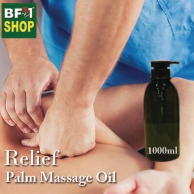 Palm Massage Oil - Relief - 1000ml