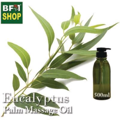 Palm Massage Oil - Eucalytups - 500ml