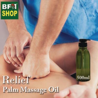 Palm Massage Oil - Relief - 500ml