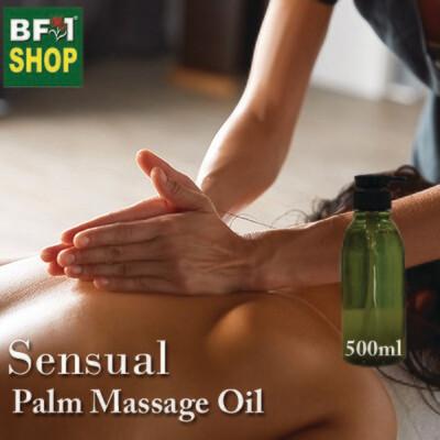 Palm Massage Oil - Sensual - 500ml