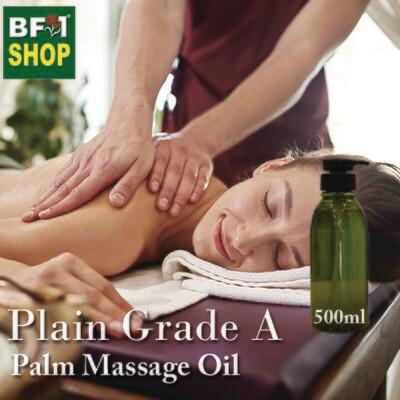 Palm Massage Oil - Plain Grade A - 500ml