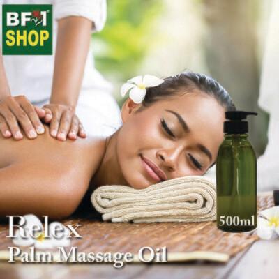 Palm Massage Oil - Relex - 500ml