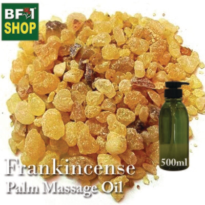 Palm Massage Oil - Frankincense - 500ml
