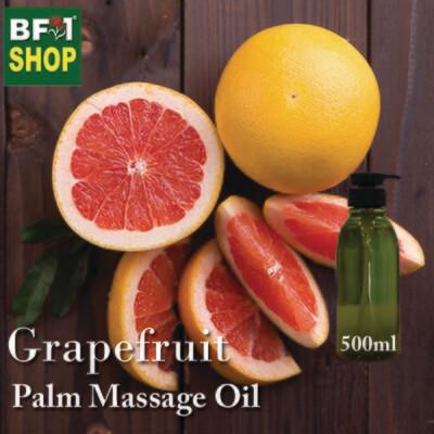 Palm Massage Oil - Grapefruit - 500ml