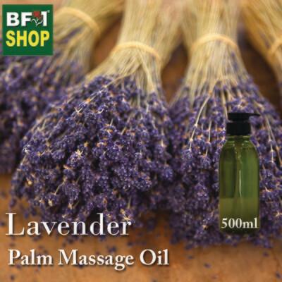 Palm Massage Oil - Lavender - 500ml