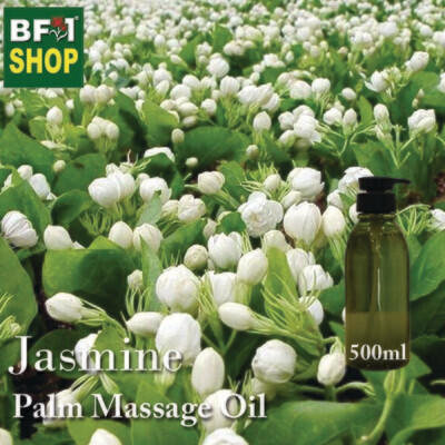 Palm Massage Oil - Jasmine - 500ml