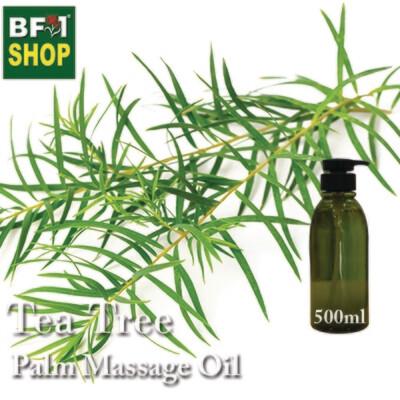 Palm Massage Oil - Tea Tree - 500ml
