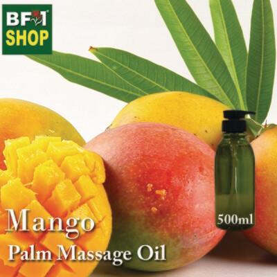 Palm Massage Oil - Mango - 500ml