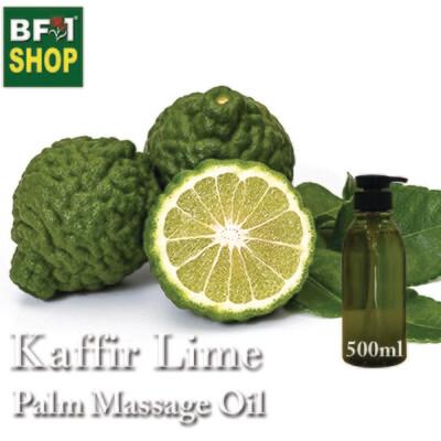 Palm Massage Oil - Kaffir Lime - 500ml