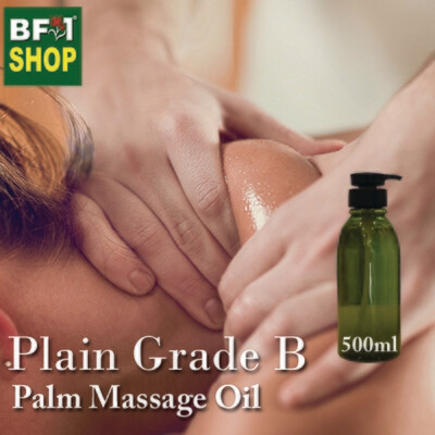 Palm Massage Oil - Plain Grade B - 500ml
