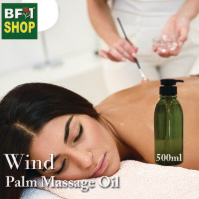 Palm Massage Oil - Wind - 500ml