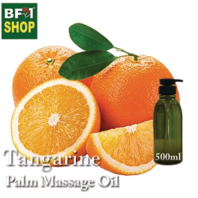 Palm Massage Oil - Tangerine - 500ml