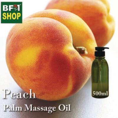Palm Massage Oil - Peach - 500ml