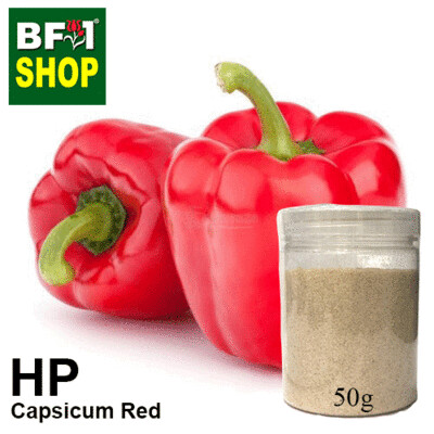 Herbal Powder - Capsicum Red Herbal Powder	 - 50g