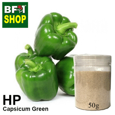 Herbal Powder - Capsicum Green Herbal Powder - 50g