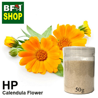 Herbal Powder - Calendula Flower Herbal Powder - 50g