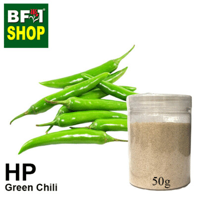 Herbal Powder - Chili - Green Chili Herbal Powder - 50g