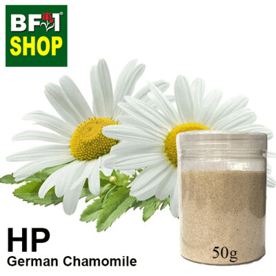Herbal Powder - Chamomile - German Chamomile Herbal Powder - 50g