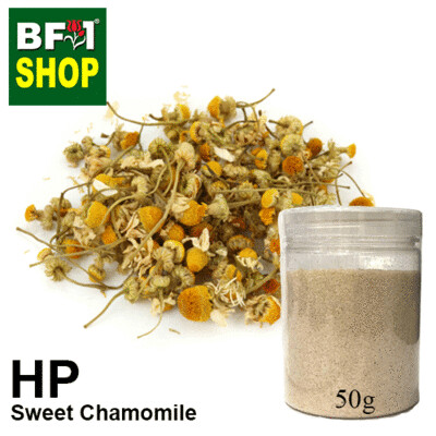 Herbal Powder - Chamomile - Sweet Chamomile Herbal Powder - 50g