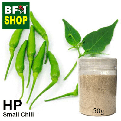 Herbal Powder - Chili - Small Chili Herbal Powder - 50g