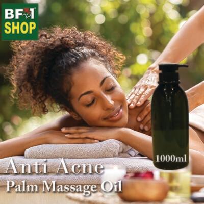 Palm Massage Oil - Anti Acne - 1000ml