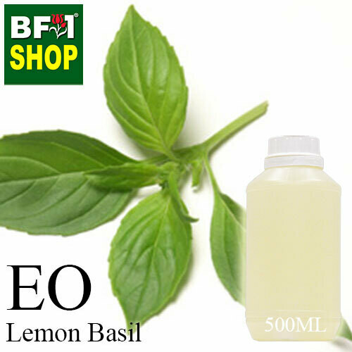 Essential Oil - Basil - Lemon Basil ( Citriodorum Basil ) - 500ml