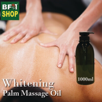 Palm Massage Oil - Whitening - 1000ml