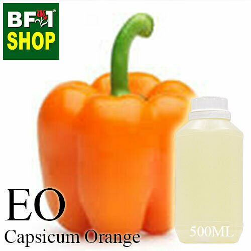 Essential Oil - Capsicum Orange - 500ml