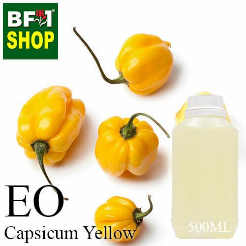 Essential Oil - Capsicum Yellow - 500ml
