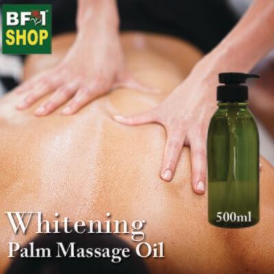 Palm Massage Oil - Whitening - 500ml