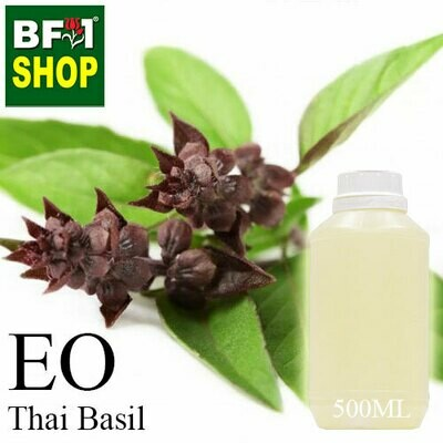 Essential Oil - Basil - Cinnamon Basil ( Thai Basil ) - 500ml