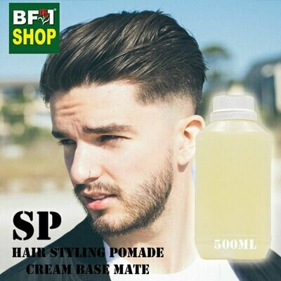 SP - Hair Styling Pomade - Cream Base Mate - 500ml